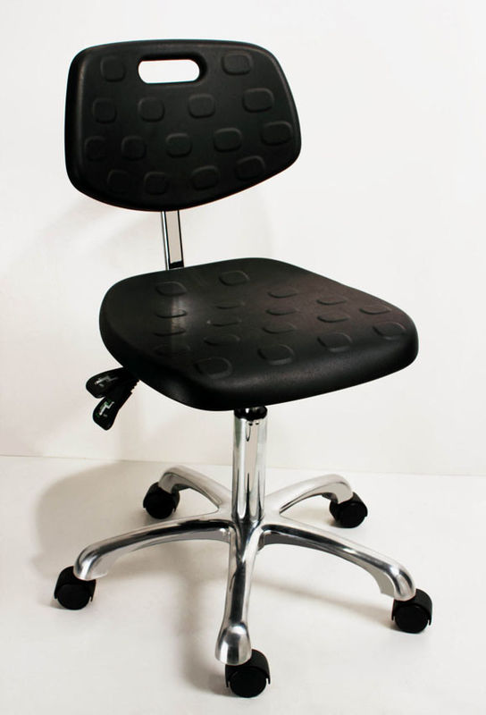 Anti Skid Ventilation ESD Cleanroom Chairs 360 Degree Rotation ESD Office Chair