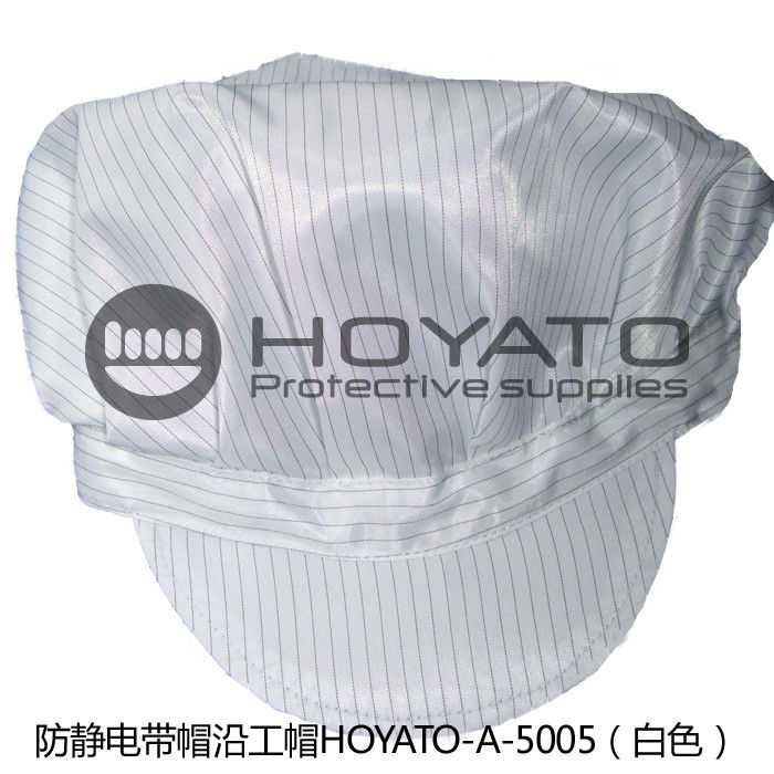 Counter Bending Windowing Peaked Anti Static Cap Wear Resistant Size Customized